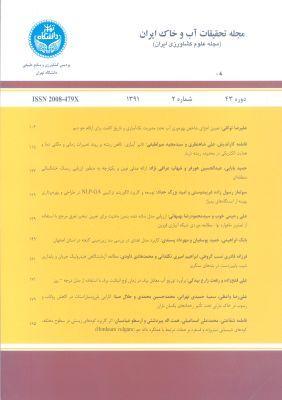 تحقیقات آب و خاک ایران